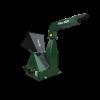 artSteel TRA-500 - Traktor hajtású ágaprító