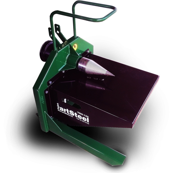 artSteel TRH-120 - Traktor hajtású rönkhasító